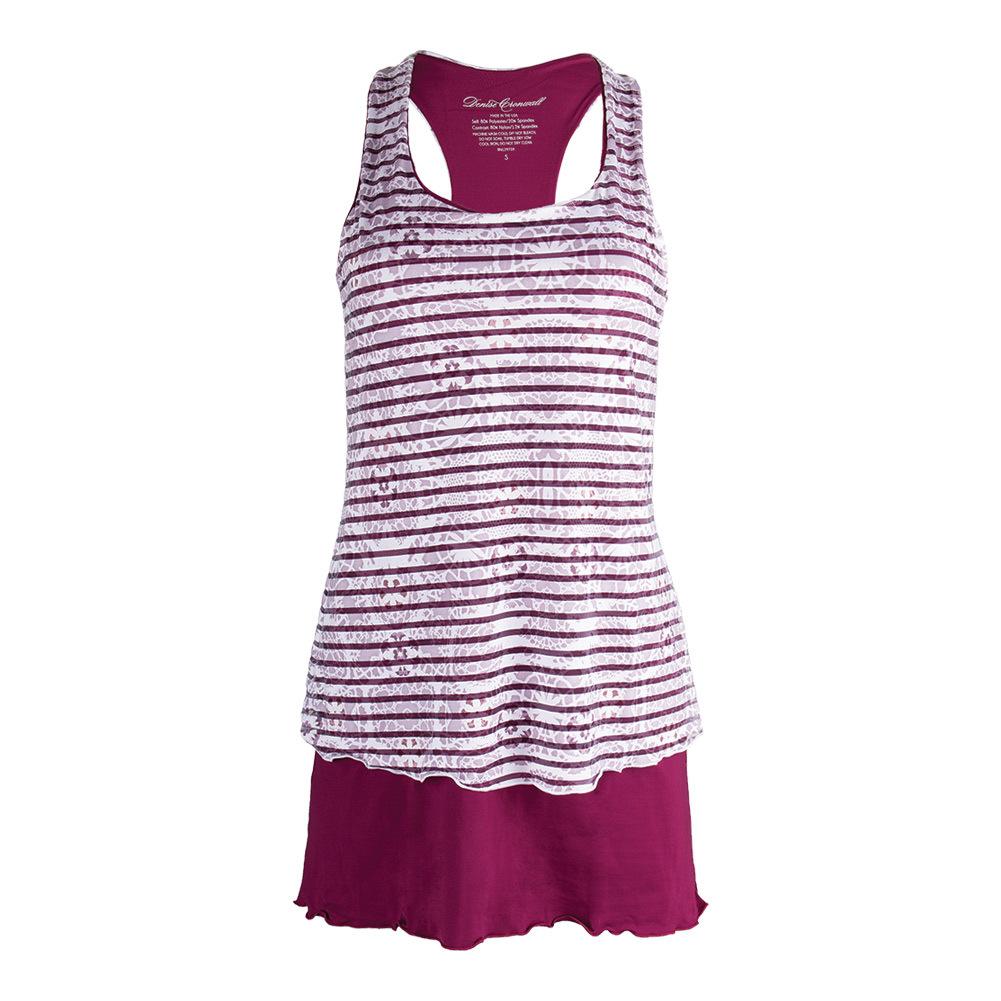 Women's Sienna Tennis Dress Raspberry