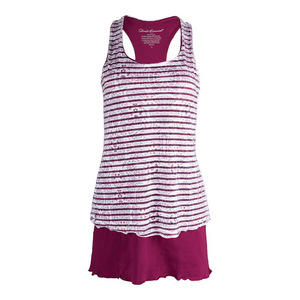Women`s Sienna Tennis Dress Raspberry