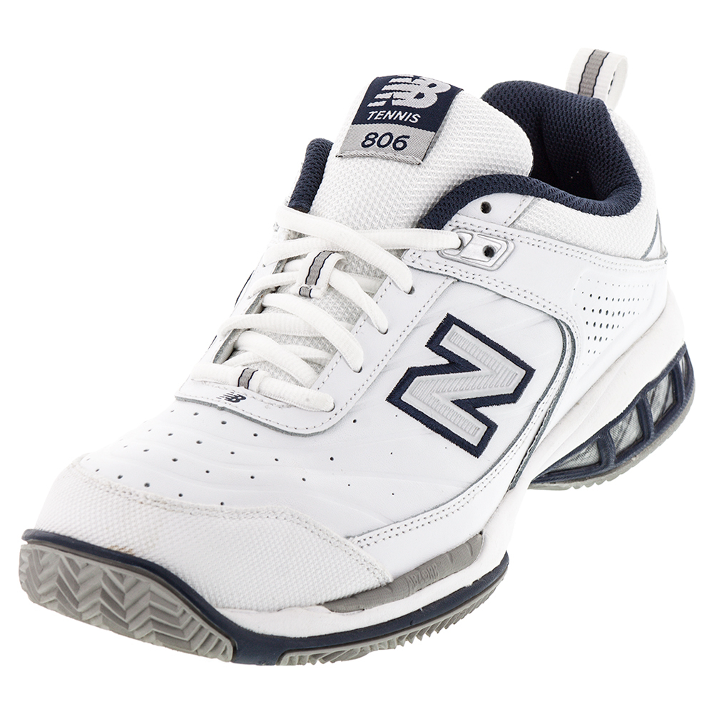 Men's Mc806 2e Width Tennis Shoes White