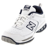 NEW BALANCE Men`s MC806 2E Width Tennis Shoes White