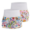 LUCKY IN LOVE Girls` Scallop Tennis Skort