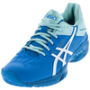 ASICS Women`s Gel-Solution Speed 3 Tennis Shoes Aqua Splash and White