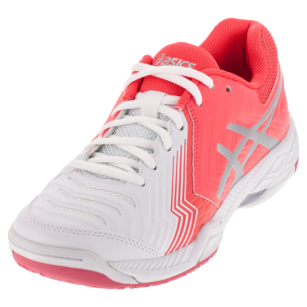 Women's Gel- Game 6 Tennis Shoes White And Diva Pink