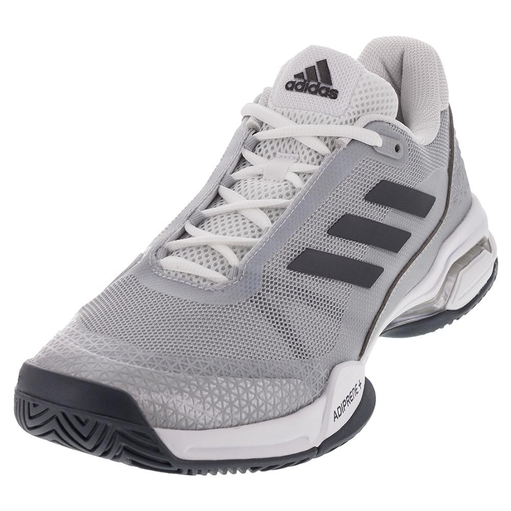 Juniors ` Barricade Club Tennis Shoes Night Metallic And White