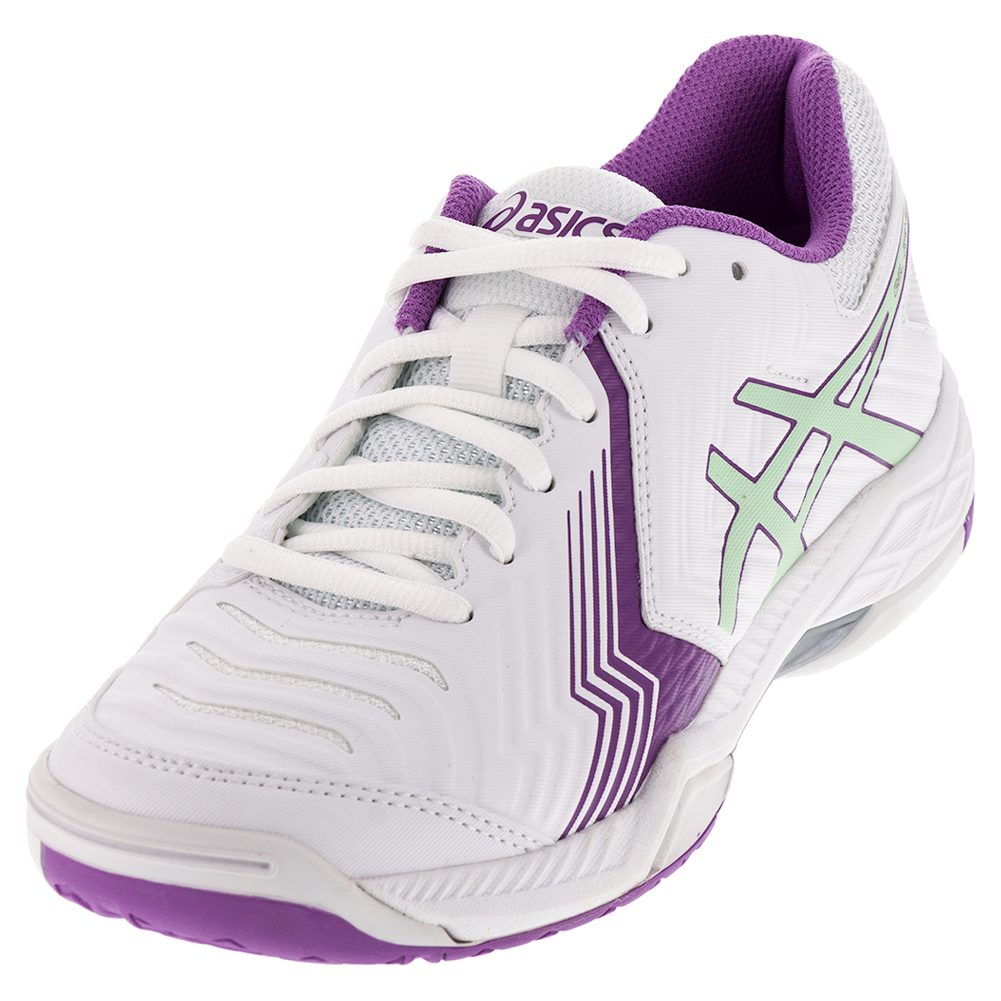 Women's Gel- Game 6 Tennis Shoes White And Paradise Green