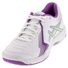 ASICS Women`s Gel-Game 6 Tennis Shoes White and Paradise Green