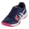 ASICS Women`s Gel-Dedicate 5 Tennis Shoes Indigo Blue and White