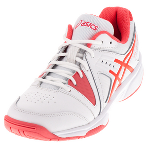 Women`s Gel-Gamepoint Tennis Shoes White and Diva Pink
