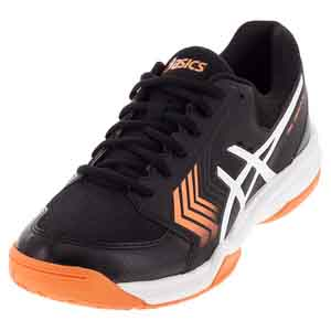 Men`s Gel-Dedicate 5 Tennis Shoes Black and White