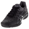 ASICS Juniors` Gel-Solution Speed 3 Tennis Shoes Black and Dark Gray