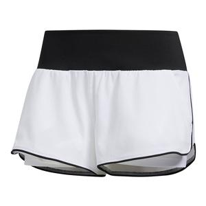Women`s Essex Tennis Short White and Black