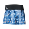 ADIDAS Women`s Essex Trend 13 Inch Tennis Skirt Mystery Blue and White