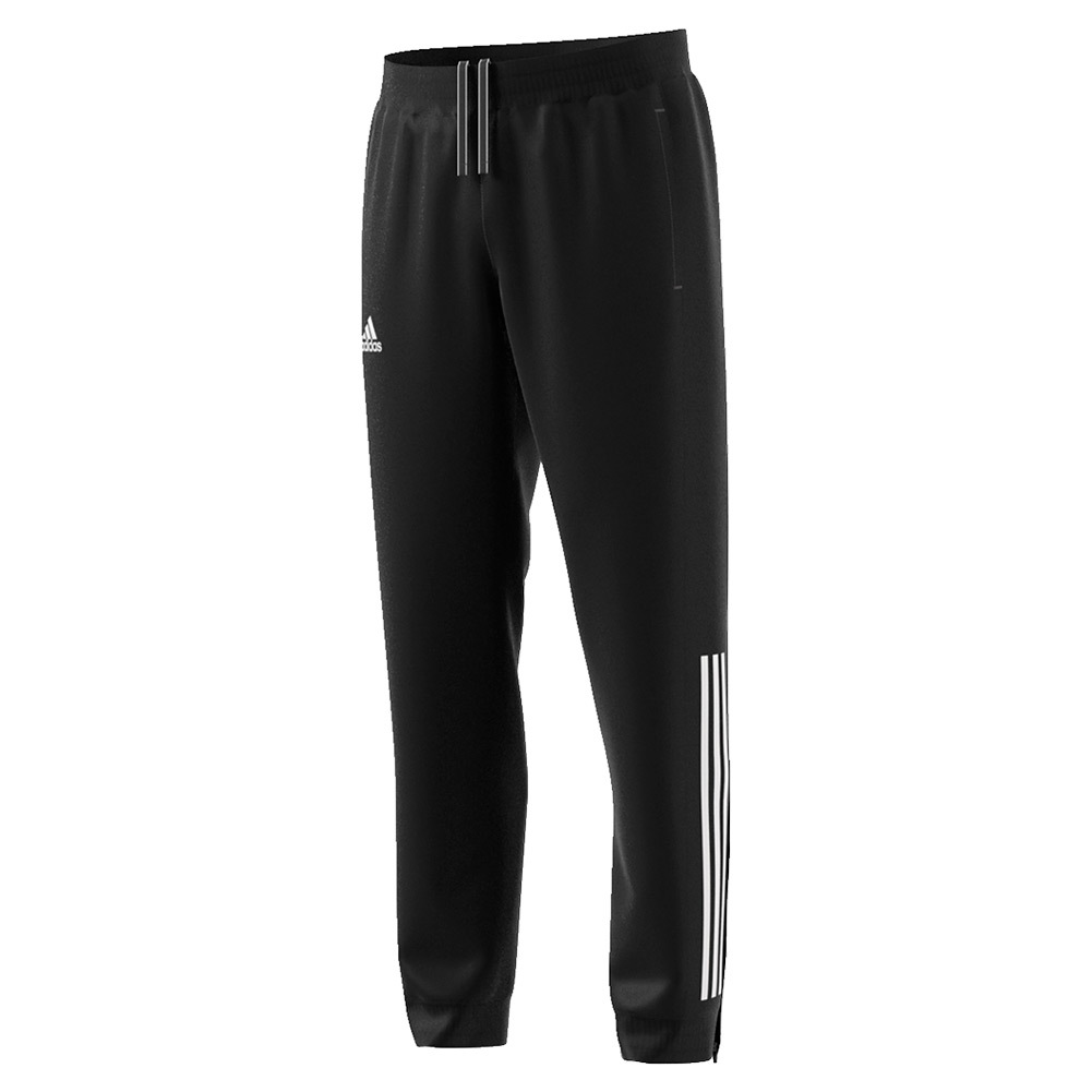 Men's Club Tennis Pant Black And White
