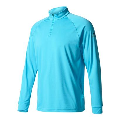 Men`s Club Half-Zip Midlayer Tennis Top Samba Blue