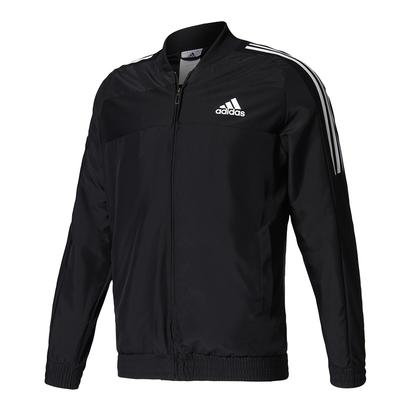 Men`s Club Tennis Jacket Black and White