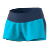 ADIDAS Women`s Essex Tennis Short Samba Blue and Mystery Blue