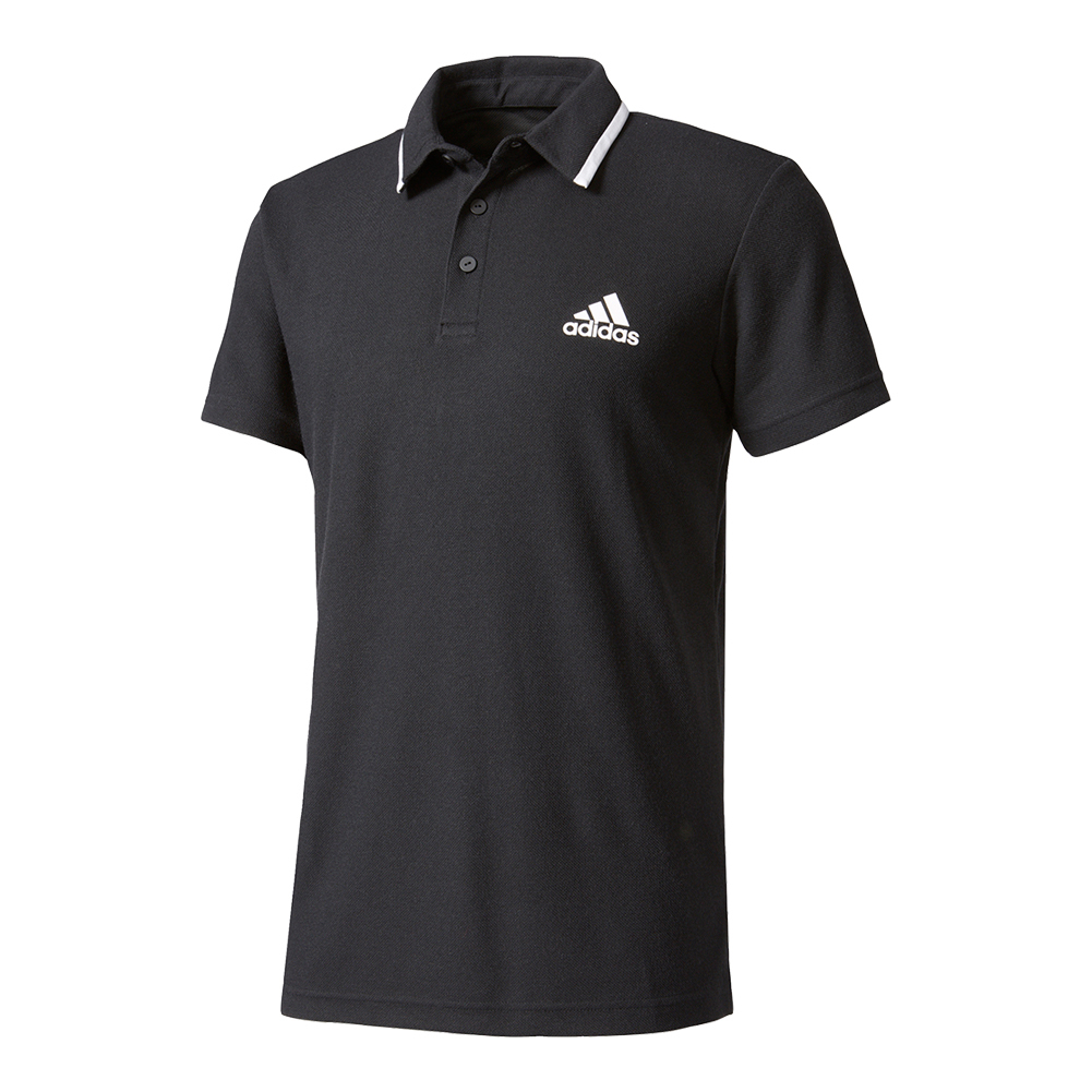 Men's Advantage Tennis Polo Black