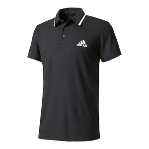 Men`s Advantage Tennis Polo Black