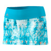 ADIDAS Women`s Essex Trend 11 Inch Tennis Skirt Samba Blue and White
