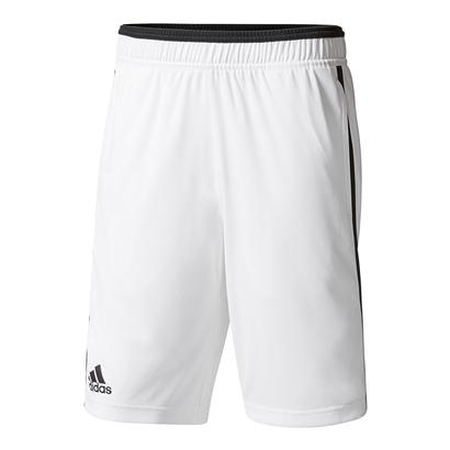 Men`s Advantage Bermuda Tennis Short White and Black