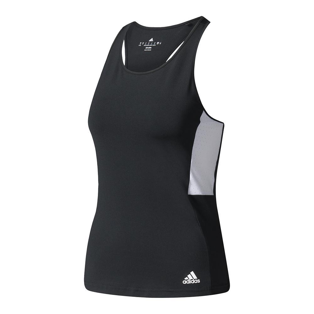 Women's Essex Tennis Tank Black And White