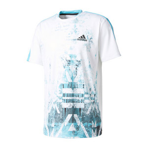 Men`s Essex Trend Tennis Tee White and Easy Green