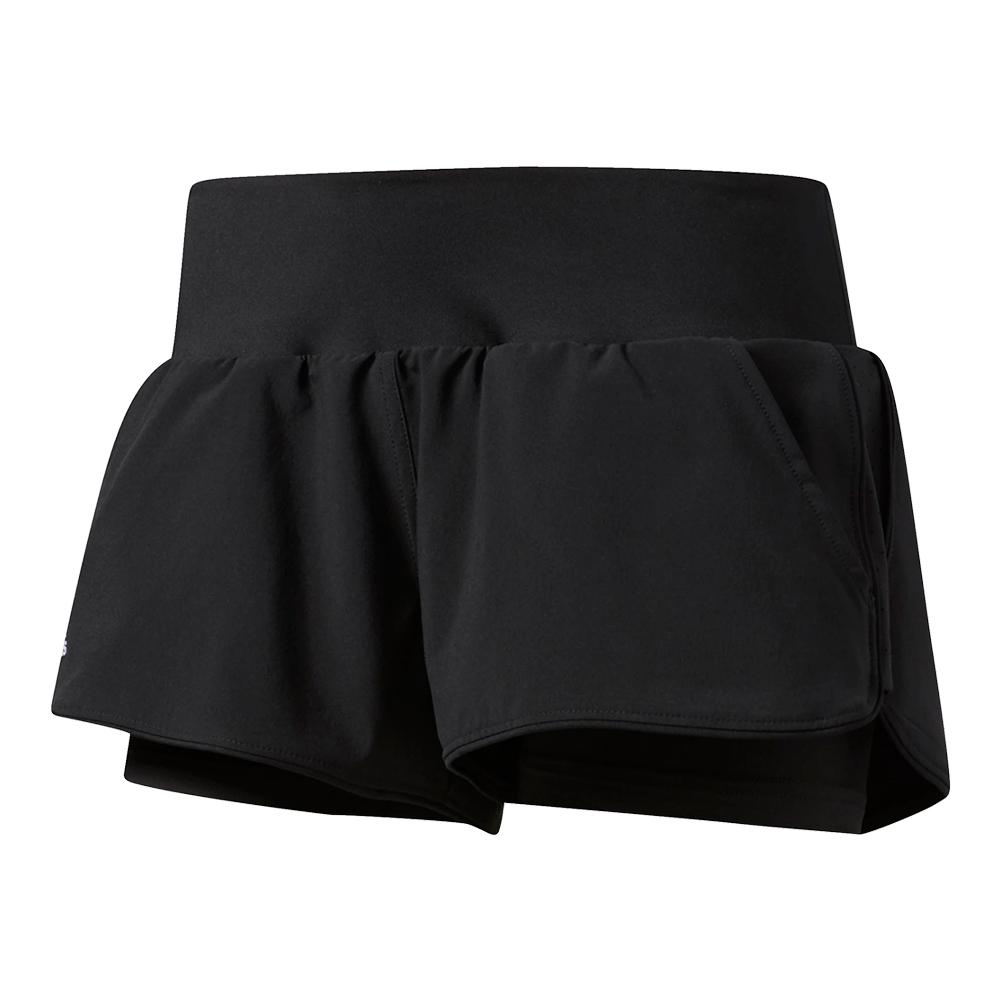 Women's Essex Tennis Short Black