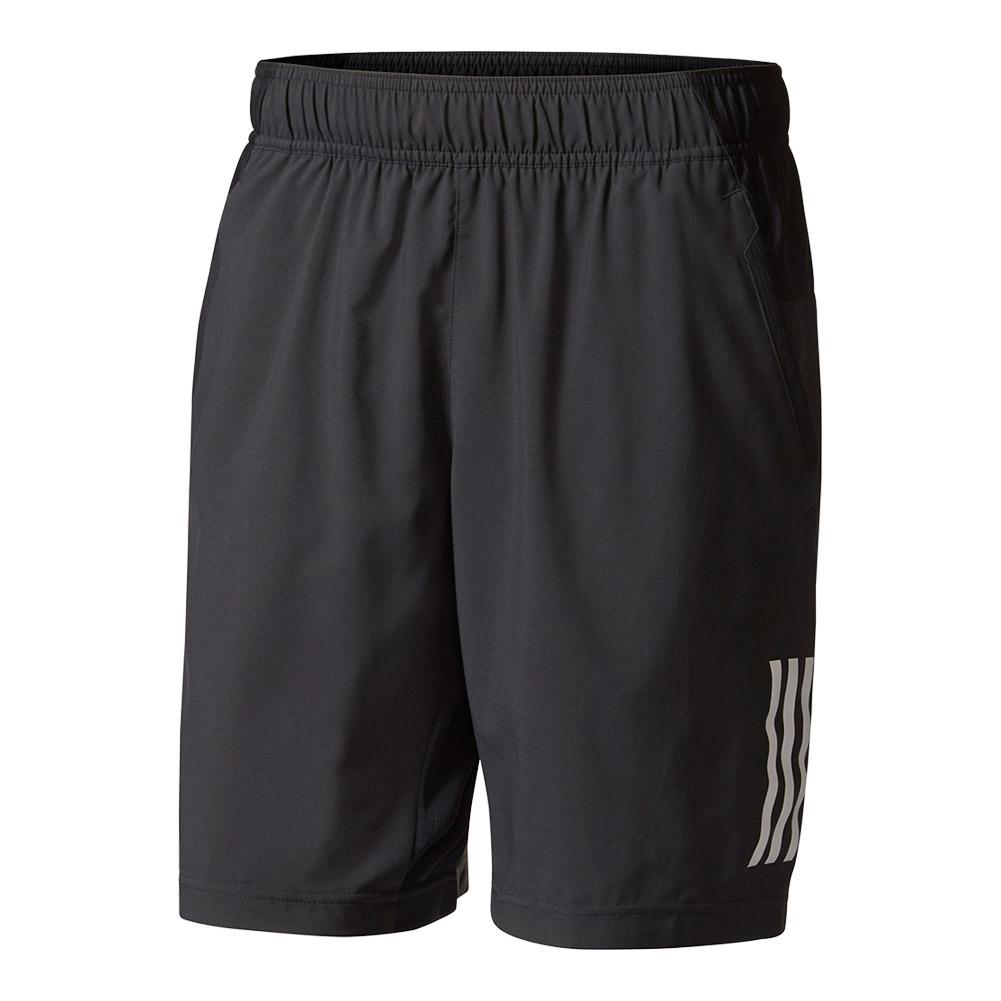 Men's Club Tennis Short Black And White