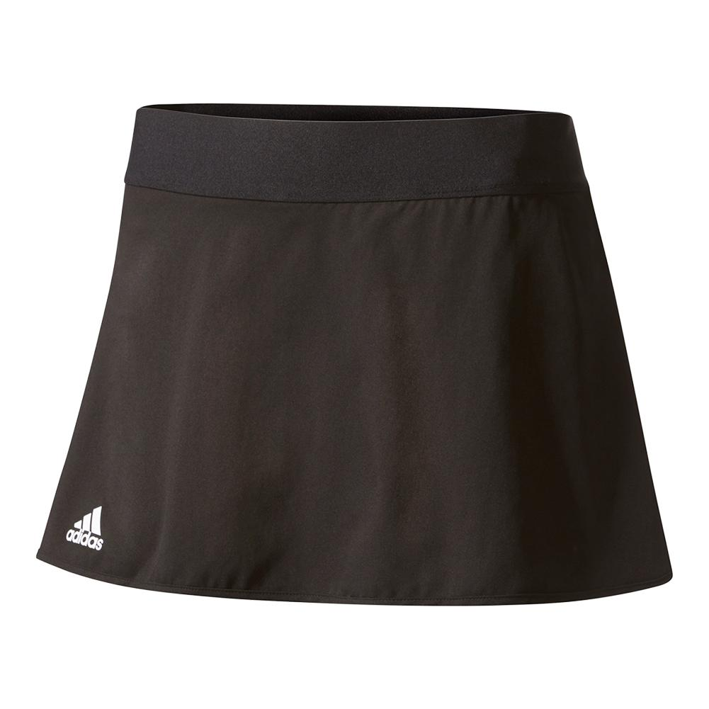Women's Club 12 Inch Tennis Skirt Black