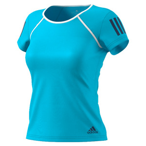 Women`s Club Tennis Tee Samba Blue and White
