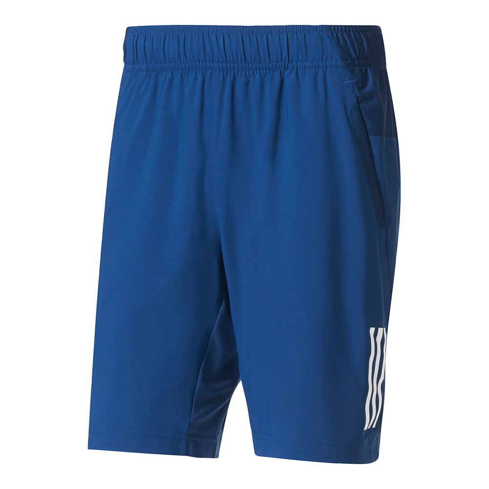 Men's Club Tennis Short Mystery Blue And White