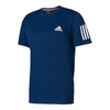 ADIDAS Men`s Club Tennis Tee Mystery Blue and White