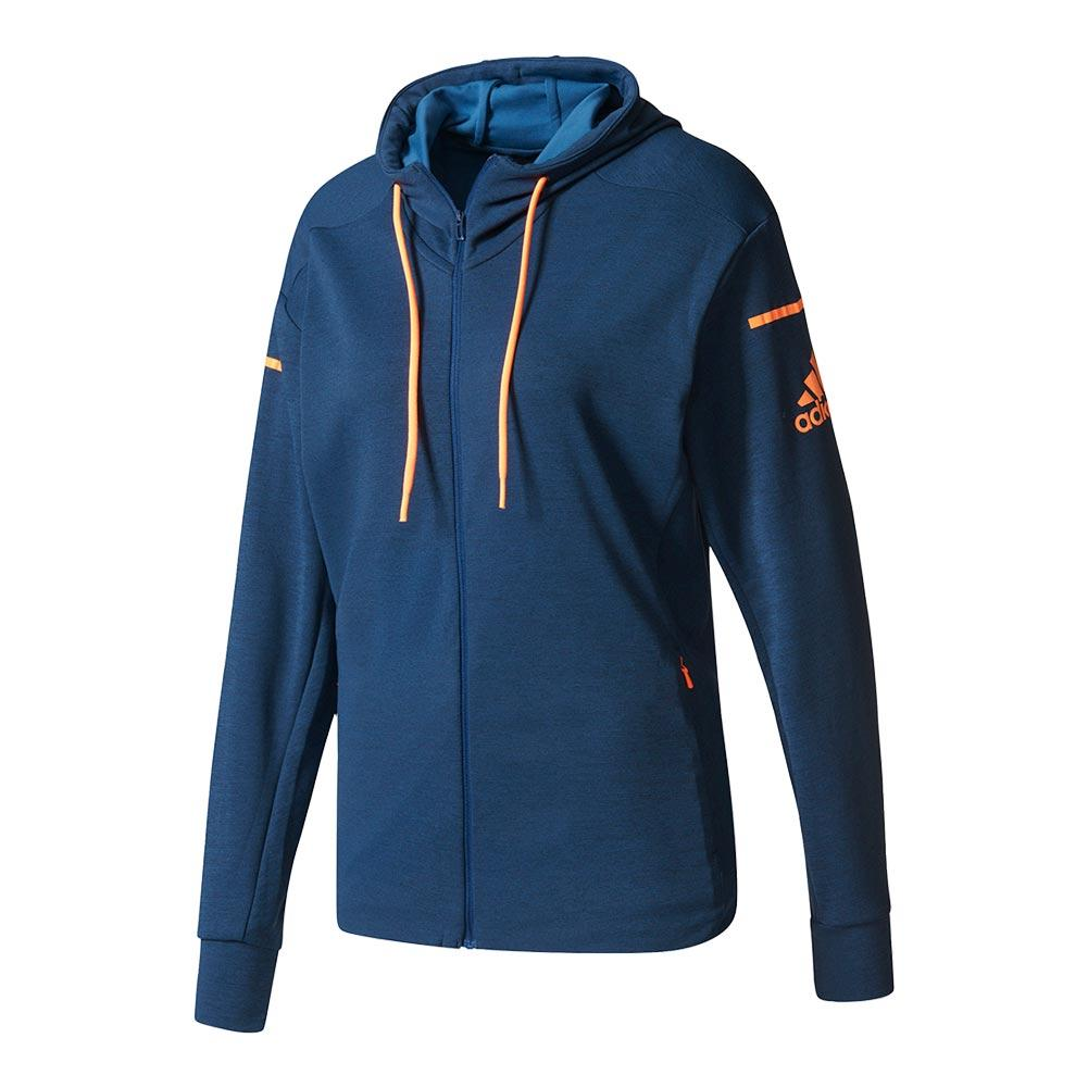 Women's Club Sweat Tennis Jacket Mystery Blue