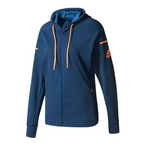 Women`s Club Sweat Tennis Jacket Mystery Blue