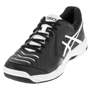 Men`s Gel-Game 6 Tennis Shoes Black and White