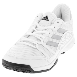 Men`s Barricade Court Tennis Shoes White and Clear Onix