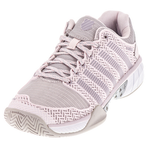 Women`s Hypercourt Express Tennis Shoes Mauve Chalk and Wind Chime