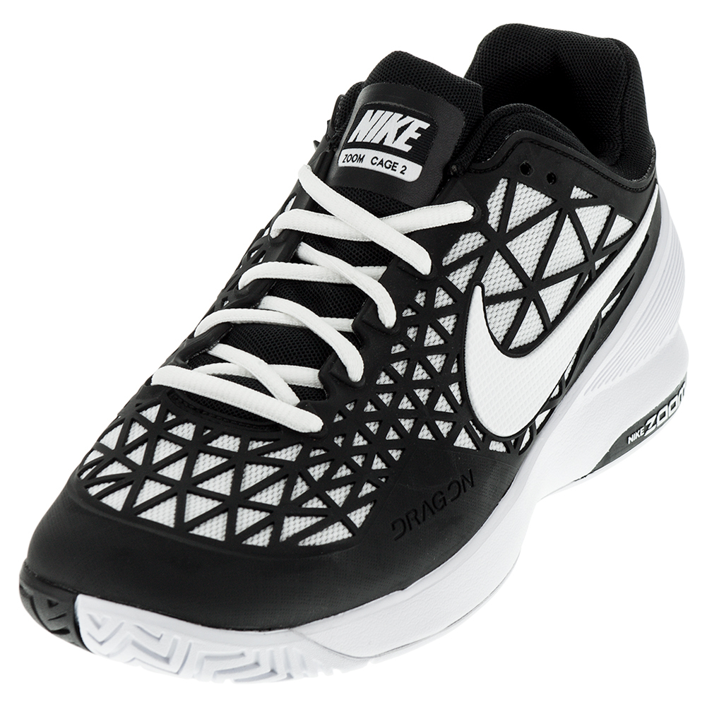 tennis express nike s zoom cage 2 tennis shoes black