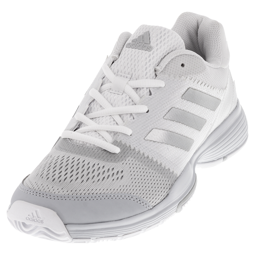 adidas white tennis shoes womens