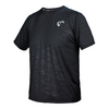 ATHLETIC DNA Boys` Short Sleeve Brick Camo Tennis Crew Black