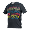 ATHLETIC DNA Boys` Train Harder Tee Black