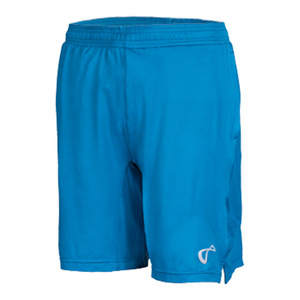 Boys` Mesh Panel Knit Tennis Short Moroccan Blue
