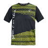 ATHLETIC DNA Men`s Short Sleve No Lie Tennis Crew Black