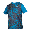 ATHLETIC DNA Boys` Short Sleeve Universe Tennis Crew Moroccan
