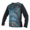 Men`s Long Sleeve Universe Tennis Crew 727_BLACK