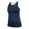 ATHLETIC DNA Women`s Mesh Back Galaxy Racerback Tennis Tank Dress Blue