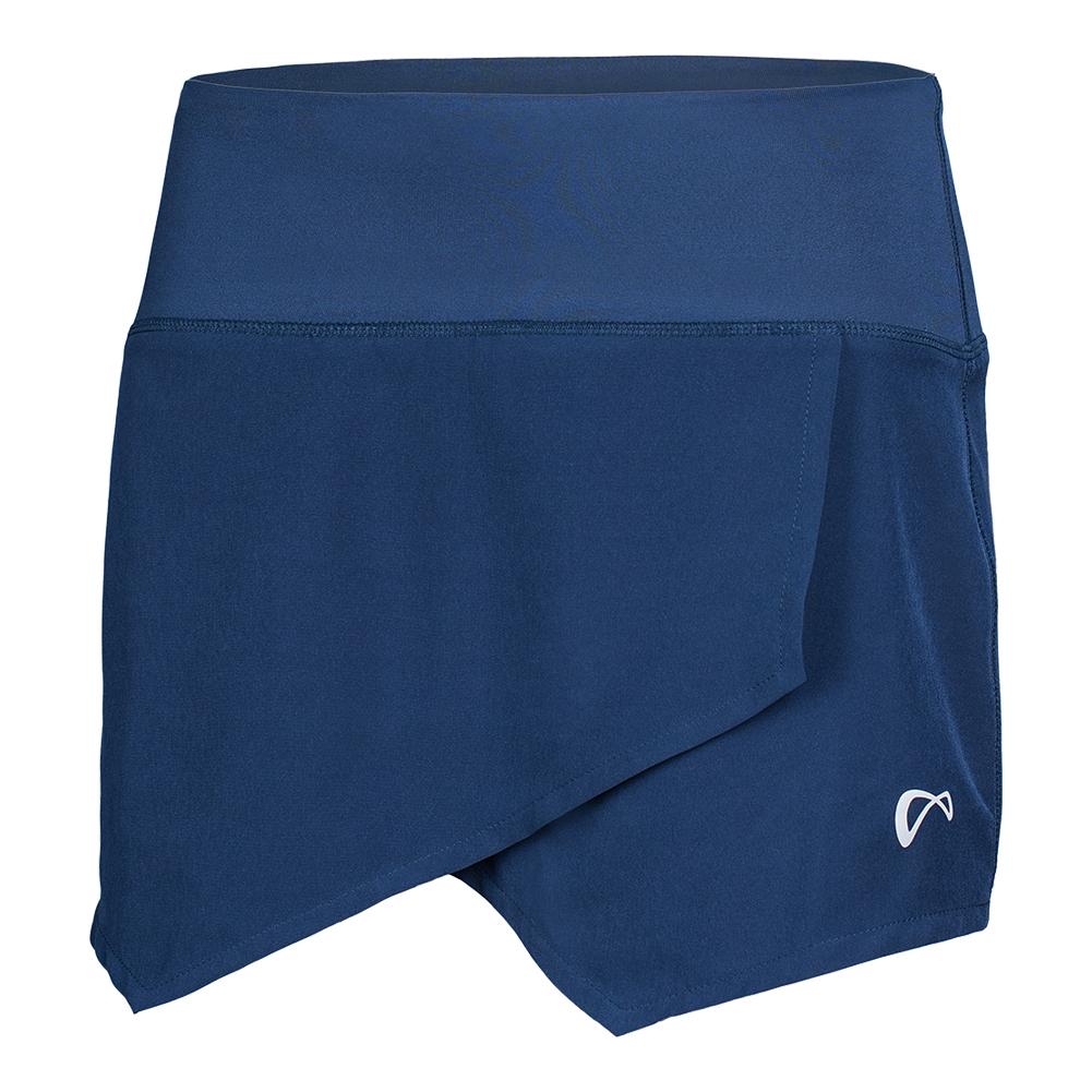 Women's Origami Tennis Skort Dress Blue