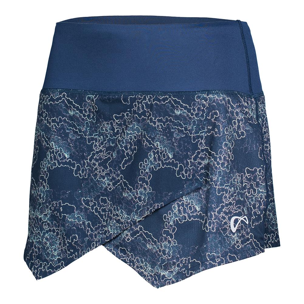Girls ` Origami Galaxy Tennis Skort Dress Blue