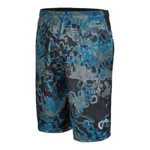 Men`s Woven Universe Tennis Short Black