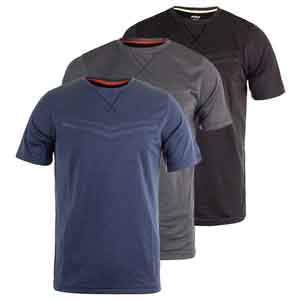 Men`s Heather Box Mesh Tennis Crew